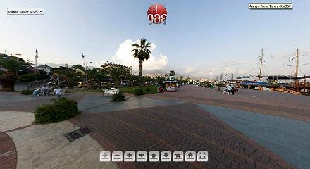 АЛАНЬЯ - виртуальная панорама всей курортной зоны